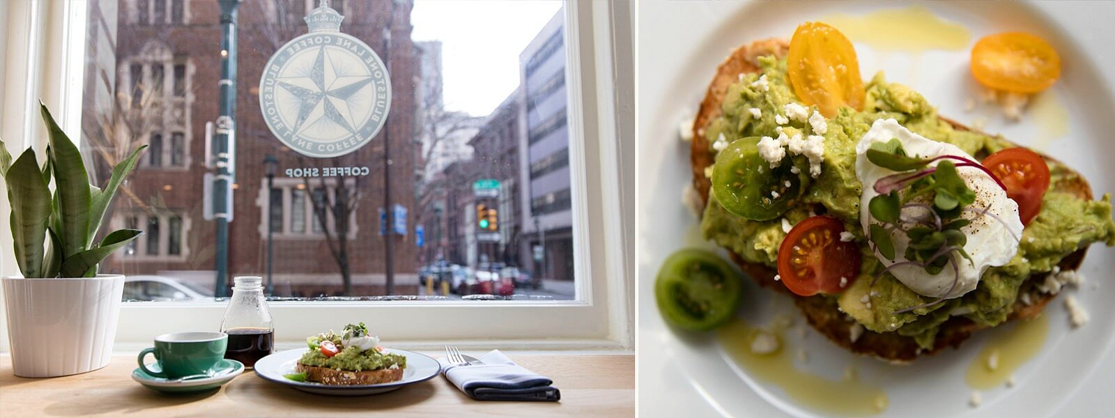 Avocado Smash inside the Rittenhouse location