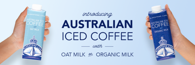 Australian Iced Coffee with Oat Milk or Organic Milk